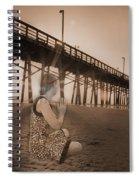 Sunrise Meditation Spiral Notebook