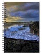 Sunrise Near Hilo Hawaii Spiral Notebook
