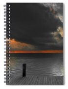 Sunrise On Key Islamorada Spiral Notebook