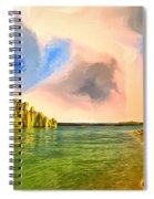 Sunrise On Lake Powell Spiral Notebook