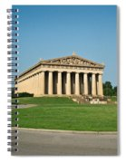 Sunrise On The Parthenon Spiral Notebook
