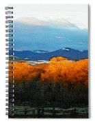 Sunrise On Trees Spiral Notebook