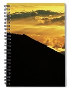 Sunrise Over Maui Spiral Notebook
