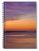 Sunrise Over The Mekong. Spiral Notebook