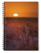 Sunrise Over The Pampa Of Argentina San Spiral Notebook