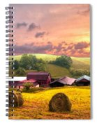 Sunrise Pastures Spiral Notebook