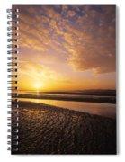 Sunrise, Sandymount Strand Dun Spiral Notebook