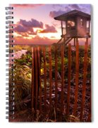 Sunrise Sentinel Spiral Notebook