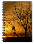 Sunrise Song Spiral Notebook