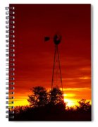 Sunrise Windmill 1 C Spiral Notebook