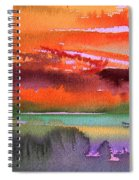 Sunset 04 Spiral Notebook