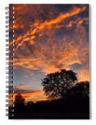 Sunset 07 26 12 Spiral Notebook