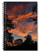 Sunset 07 26 12 Two Spiral Notebook