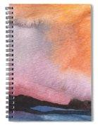 Sunset 36 Spiral Notebook