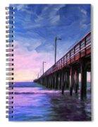 Sunset At Avila Beach Spiral Notebook
