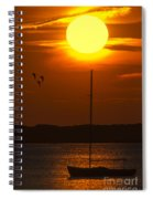 Sunset At Cape Cod Spiral Notebook