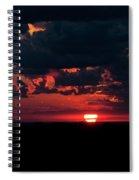 Sunset At Chestnut Ridge 27718 Spiral Notebook