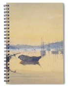 Sunset At Constantinople Spiral Notebook