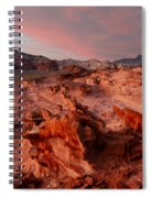 Sunset At Liitle Finland Spiral Notebook