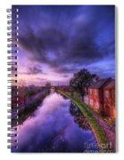 Sunset At Loughborough Spiral Notebook