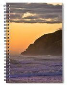 Sunset At North Head II Spiral Notebook