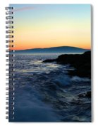 Sunset At Schoodic Spiral Notebook