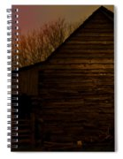 Sunset At The Barn Spiral Notebook