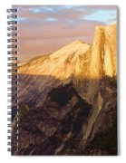 Sunset At The Dome Spiral Notebook