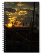 Sunset At The Georgia State Fair Spiral Notebook