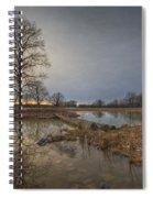 Sunset At Timber Banks Spiral Notebook