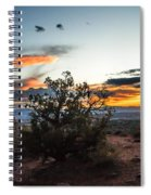 Sunset At Turrent Arch Spiral Notebook