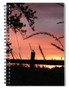 Sunset Bird Spiral Notebook