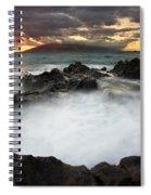 Sunset Boil Spiral Notebook