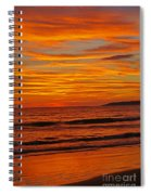 Sunset Colours Spiral Notebook