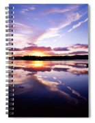 Sunset, Dinish Island Kenmare Bay Spiral Notebook