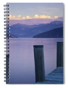 Sunset Dock Spiral Notebook