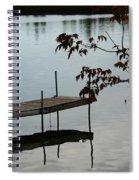 Sunset Dock Spiral Notebook