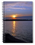 Sunset Egg Harbor Spiral Notebook