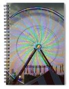 Sunset Flower Spiral Notebook