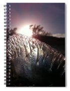 Sunset For Man-o-war Spiral Notebook