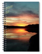 Sunset Forever My Love Spiral Notebook