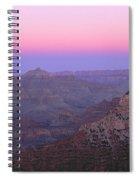 Sunset Hues At Grand Canyon Spiral Notebook