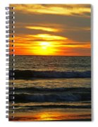 Sunset In Mexico Spiral Notebook