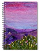Sunset Lake Spiral Notebook