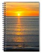 Sunset - Moana Beach - South Australia Spiral Notebook