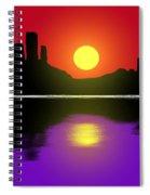 Sunset No. 3 Spiral Notebook