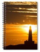 Sunset Obelisk Spiral Notebook