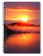 Sunset On Campobello Island  Spiral Notebook