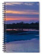 Sunset On Honeymoon Island Spiral Notebook