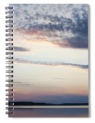 Sunset On Lovewell Spiral Notebook